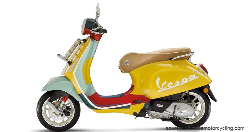 Primavera Sean Wotherspoon - Vespa Limited Edition yang Ada di Indonesia