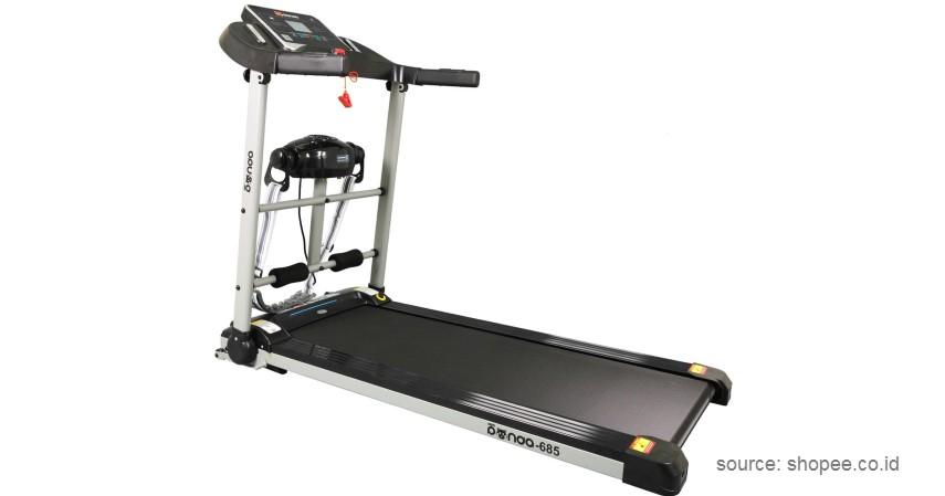 RedPanda – Multifunction Treadmill - 10 Merek Treadmill Terbaik dan Murah Bikin Semangat Fitness di Rumah!