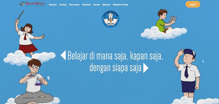 Rumah Belajar Kemendikbud - 7 Situs Belajar Online Gratis