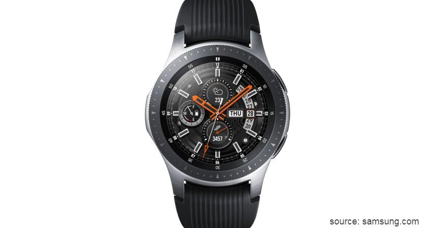 Samsung Galaxy Watch - 10 Merek Smartwatch Terbaik dan Berkualitas