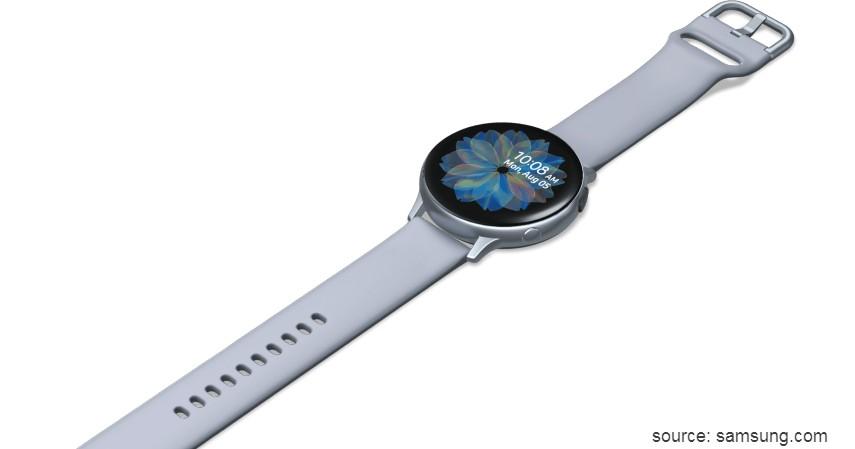 Samsung Galaxy Watch Active 2 - 10 Merek Smartwatch Terbaik dan Berkualitas