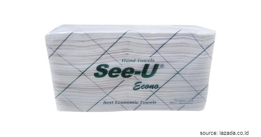 See-U Hand Towels - 10 Merek Tisu Terbaik Ini Murah dan Ramah Lingkungan