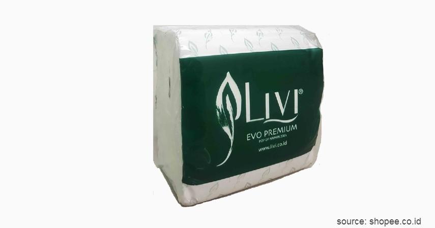 Sinar Mas Livi Evo Premium Facial Refill - 10 Merek Tisu Terbaik Ini Murah dan Ramah Lingkungan