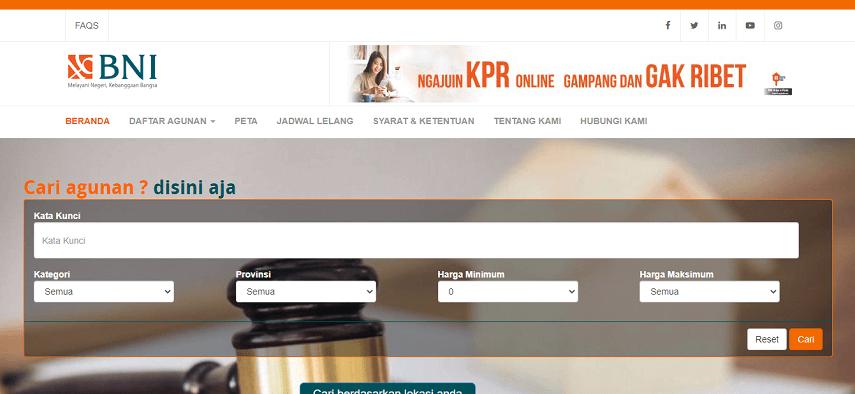 Situs rumah murah sitaan dari Bank BNI - Situs Rumah Murah Sitaan Bank BUMN