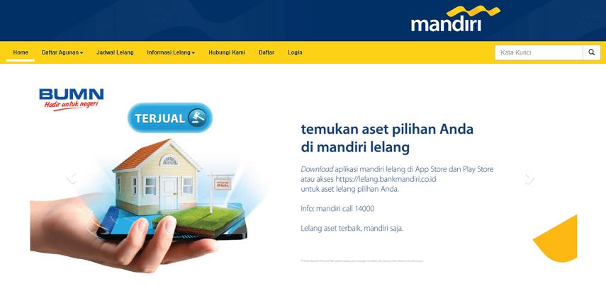 Situs rumah murah sitaan dari Bank Mandiri - Situs Rumah Murah Sitaan Bank BUMN
