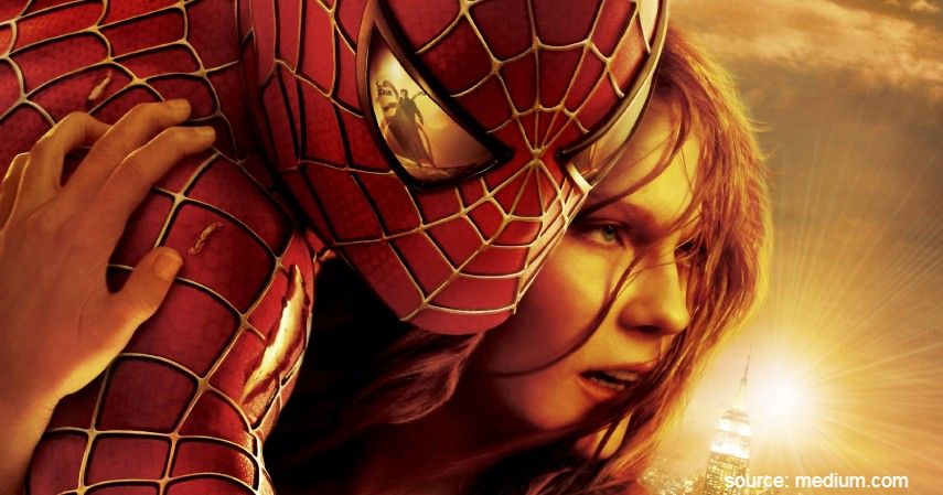 Spider-Man 2 - 13 Film Superhero Hollywood Terbaik yang Wajib Ditonton
