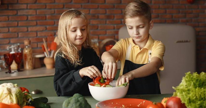 Tips Agar Anak Doyan Sayur