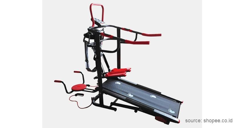 Total Fitness – Treadmill Manual - 10 Merek Treadmill Terbaik dan Murah Bikin Semangat Fitness di Rumah!