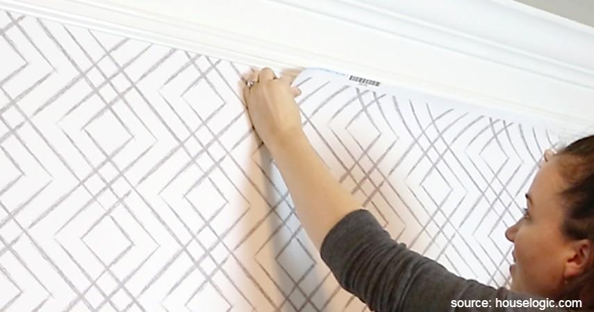 Waktunya menempelkan wallpaper dinding - Cara Memasang Wallpaper Dinding