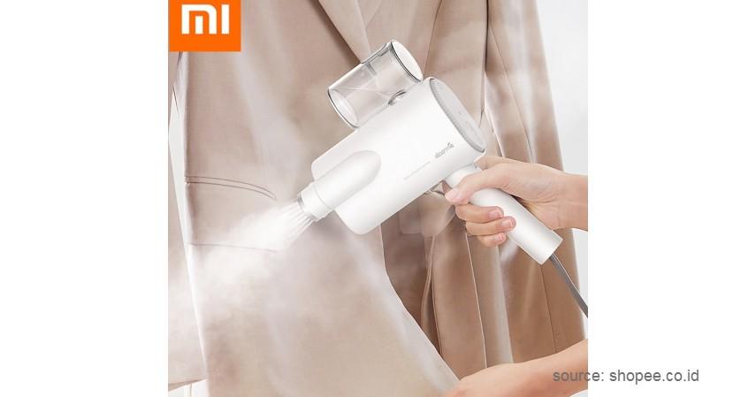 Xiaomi Deerma Handheld Garment Steamer - 9 Rekomendasi Setrika Uap Terbaik dengan Harga Terjangkau