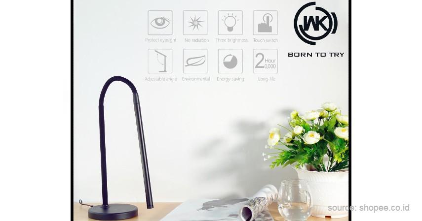 WK Tube - 10 Merek Lampu Meja Terbaik untuk Bantu Aktivitas Belajar di Rumah