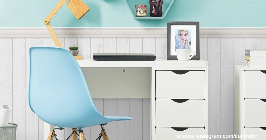 iFurnholic - Thomas Smart Desk 150 - 7 Merk Meja Kerja Terbaik Agar Nyaman saat WFH