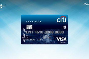 Cara Pengajuan Kartu Kredit Citibank Citi Cash Back secara Online
