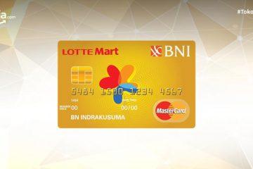 Syarat Serta Biaya-biaya Kartu Kredit BNI Mastercard Lottemart Gold