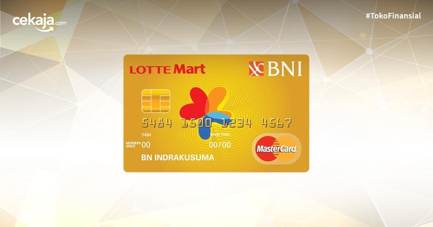Syarat Serta Biaya Biaya Kartu Kredit Bni Mastercard Lottemart Gold