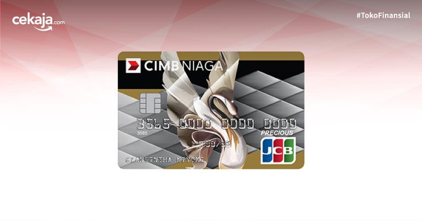 Promo Cashback Kartu Kredit Cimb Niaga Jcb Precious Berlimpah Untungnya