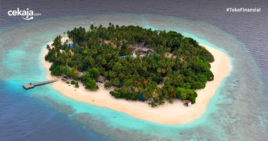 10 Private Island Resort Terbaik di Indonesia, Pemandangan Super Indah