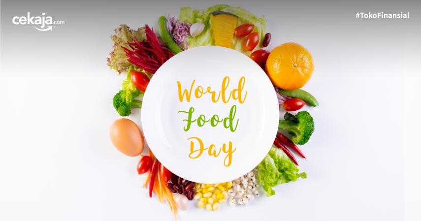 Hari Pangan Sedunia: Pola Makan Sehat Kunci Umur Panjang