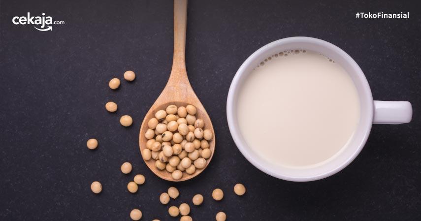 12 Manfaat Susu Kedelai Ini Baik untuk Kesehatan Tubuh, Kulit dan Rambut