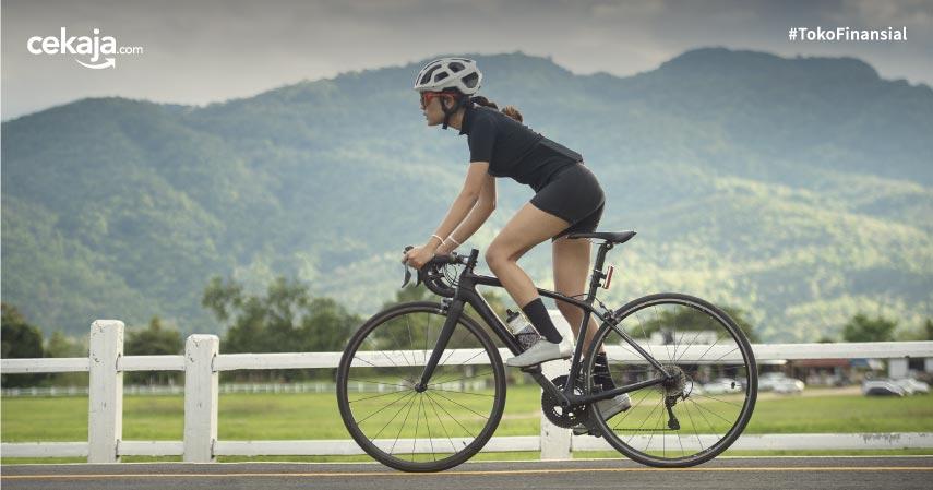 9 Manfaat Bersepeda untuk Kesehatan Mental