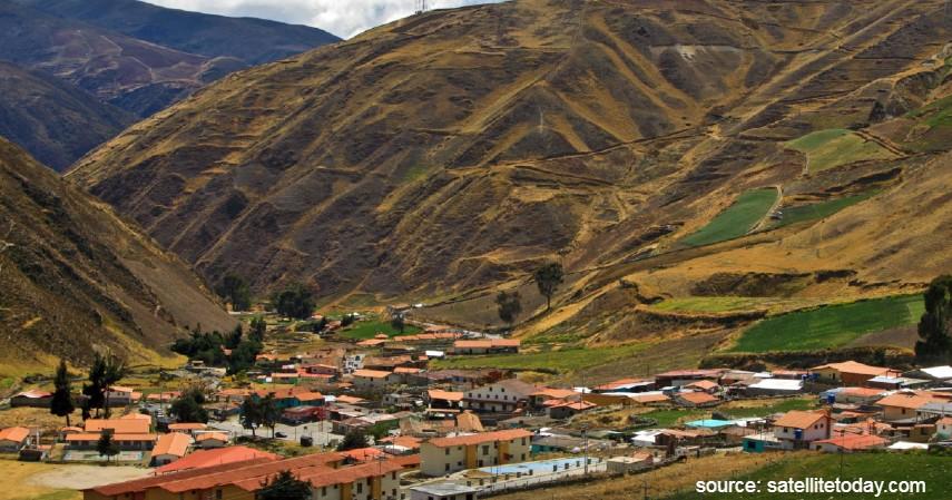 Apartaderos Venezuela - Daftar Kota dengan Letak Tertinggi di Dunia