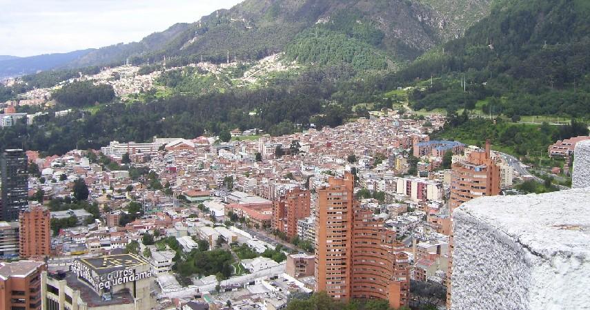 Bogota Kolombia - Daftar Kota dengan Letak Tertinggi di Dunia
