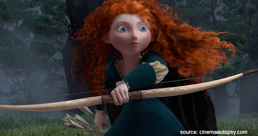 Brave 2012 - 10 Film Kartun Terbaik untuk Anak