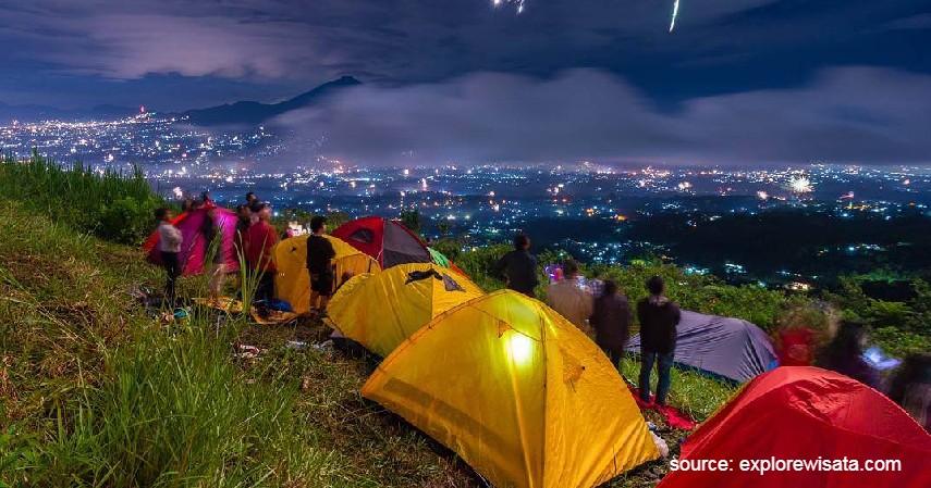 Bukit Alesano - Rekomendasi Tempat Camping di Bogor Paling Hits