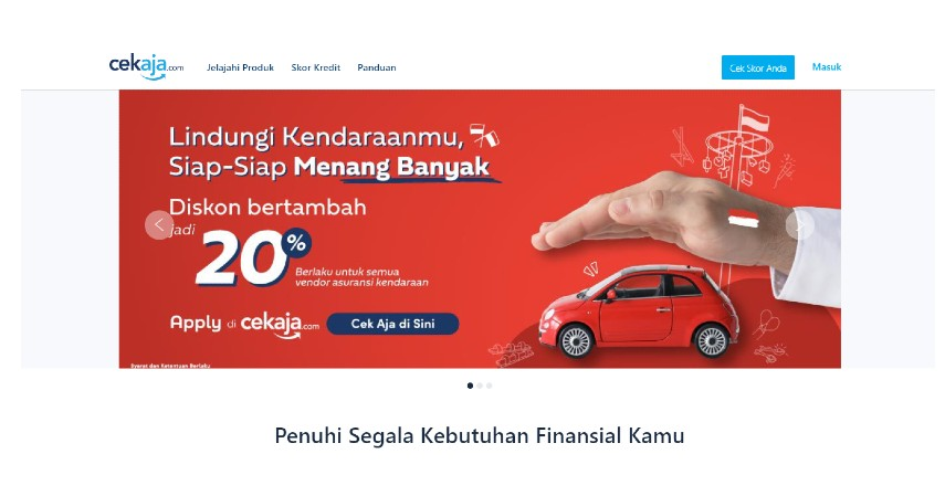 Cara Apply Pinjaman KTA Standard Chartered Melalui CekAja - Buka Website Resmi CekAja