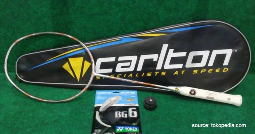 Carlton - 12 Merek Raket Badminton Terbaik yang Banyak Digunakan Atlet Ternama
