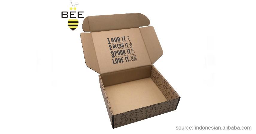 Carton Box - 8 Kemasan Ramah Lingkungan Kekinian yang Bikin Produk jadi Estetik