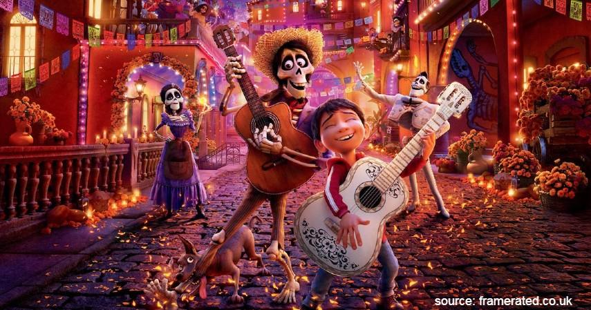 Coco 2017 - 10 Film Kartun Terbaik untuk Anak