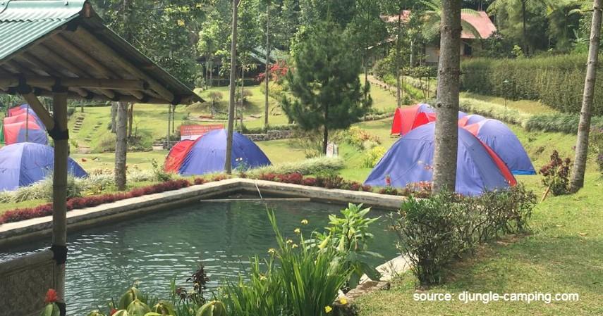 D'Jungle Private Camp - Rekomendasi Tempat Camping di Bogor Paling Hits