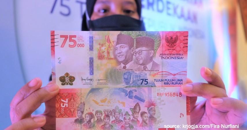Daftar Bank Umum yang Melayani Penukaran Uang Rp75 Ribu