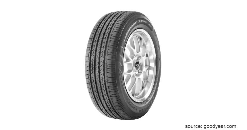 Dunlop - 9 Merk Ban Mobil Terbaik Berkualitas dan Awet Digunakan