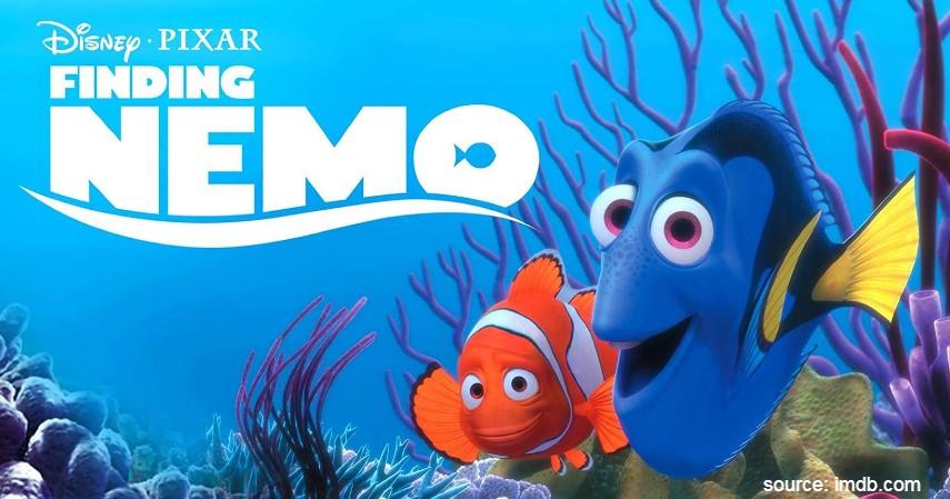 Finding Nemo 2003 - 10 Film Kartun Terbaik untuk Anak