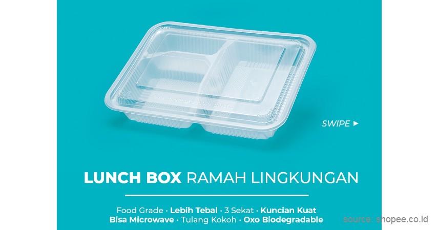 Food Container - 8 Kemasan Ramah Lingkungan Kekinian yang Bikin Produk jadi Estetik