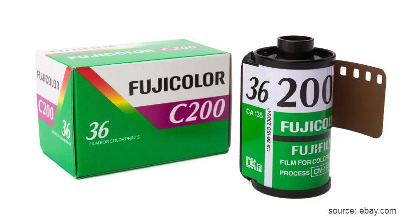 Fujicolor C200 - 8 Merk Roll Film Kamera Terbaik untuk Kamera Analog