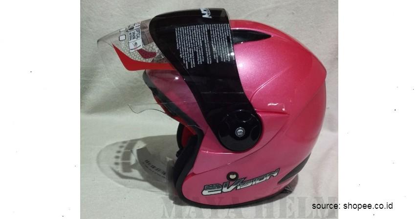Helm KYT 2 Vision - 6 Helm Half Face Terbaik untuk Wanita
