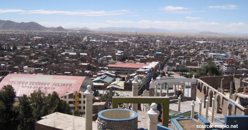Juliaca Peru - Daftar Kota dengan Letak Tertinggi di Dunia