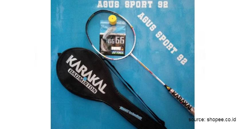 Karakal - 12 Merek Raket Badminton Terbaik yang Banyak Digunakan Atlet Ternama