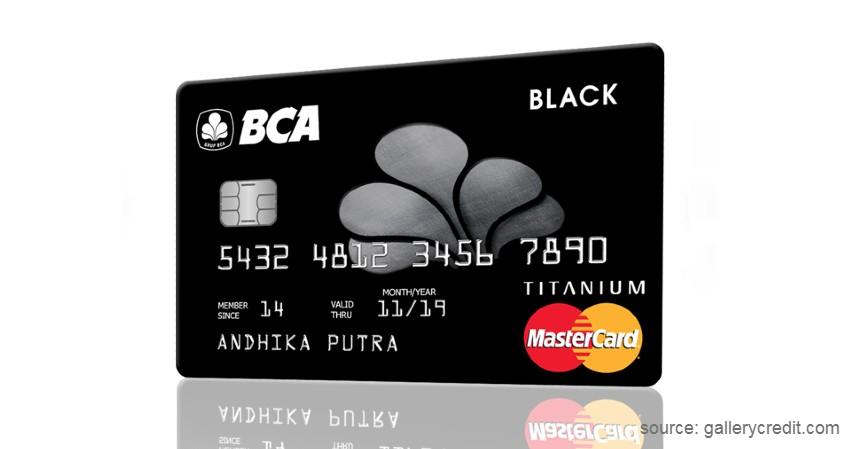 Kartu Kredit BCA Black Mastercard Titanium - 4 Kartu Kredit BCA Terbaik 2020 yang Bisa Dijadikan Pilihan Ketika Pandemi