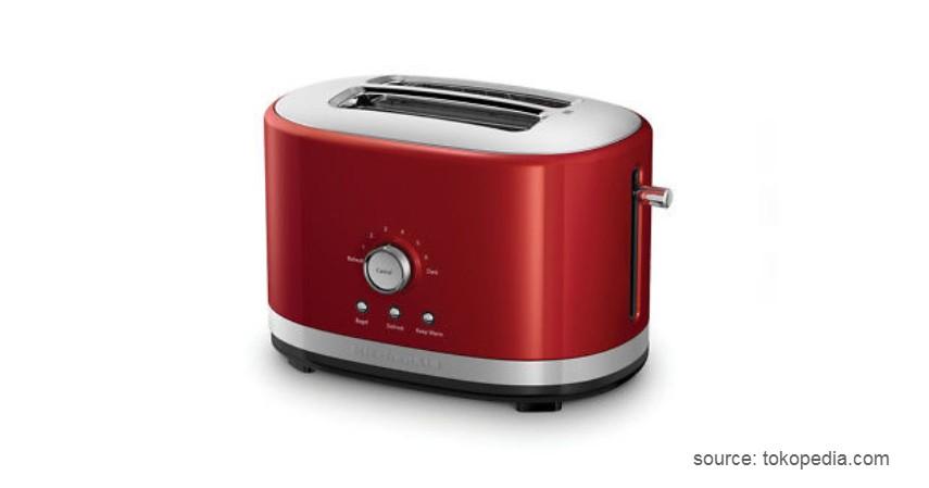 KitchenAid 2 Slice Artisan Automatic Toaster KMT223 - 10 Pemanggang Roti Terbaik dengan Kualitas dan Fitur Mumpuni!