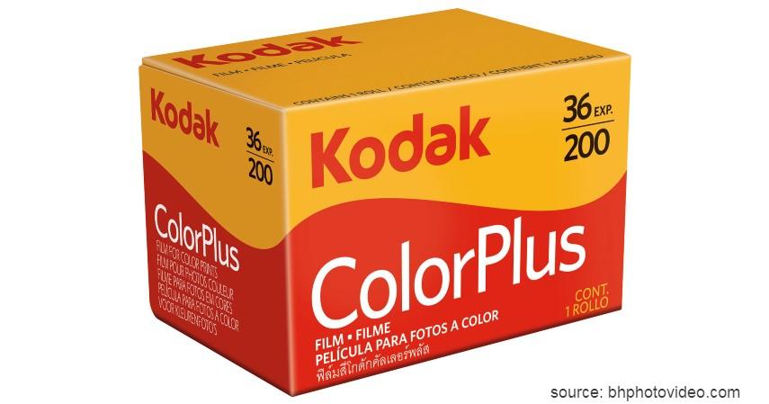 Kodak Color Plus 200 - 8 Merk Roll Film Kamera Terbaik untuk Kamera Analog