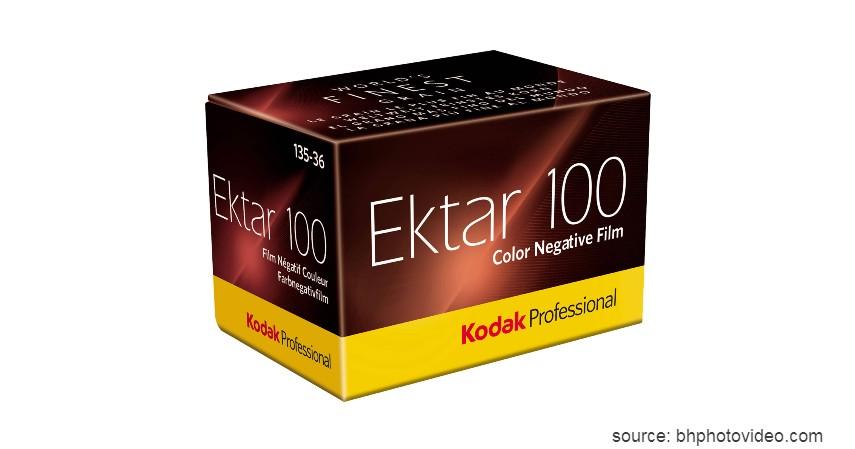 Kodak Ektar 100 - 8 Merk Roll Film Kamera Terbaik untuk Kamera Analog