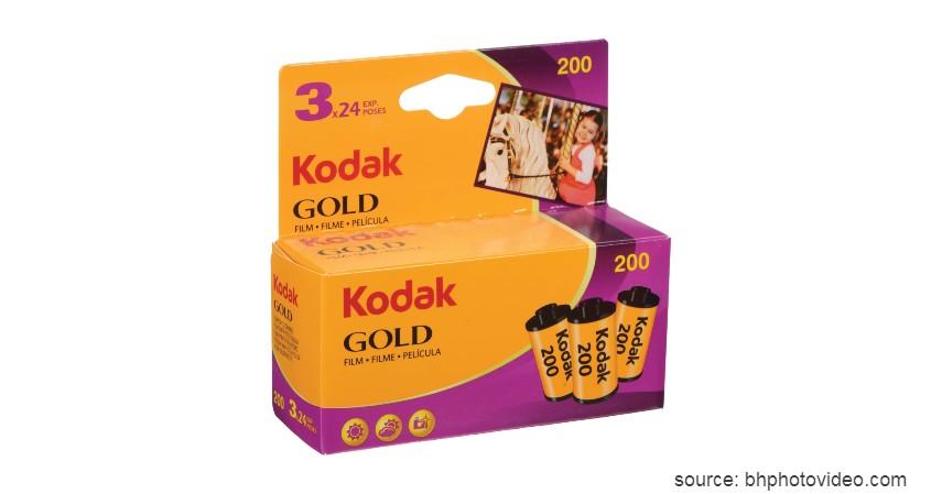 Kodak Gold 200 - 8 Merk Roll Film Kamera Terbaik untuk Kamera Analog