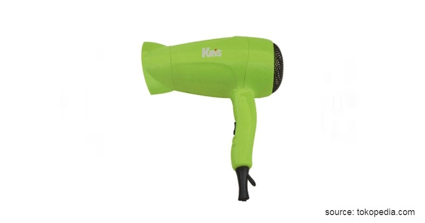 Kris Mini Travel Hair Dryer - 7 Rekomendasi Hair Dryer Terbaik dan Harga Murah 2020