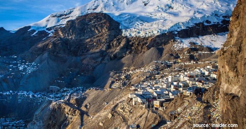 La Rinconada Peru - Daftar Kota dengan Letak Tertinggi di Dunia