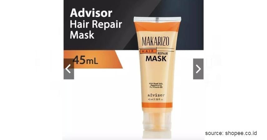 Makarizo Advisor Hair Repair Mask - 11 Merek Masker Rambut Terbaik dan Bagus untuk Sehatkan Rambut