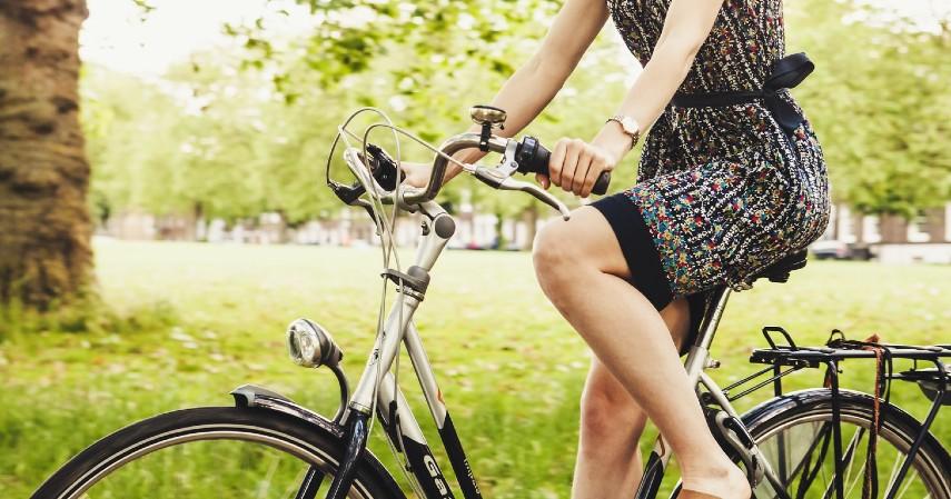 Manfaat Bersepeda untuk Kesehatan Mental - Jadi terbiasa menerapkan gaya hidup sehat